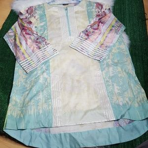 Sapphire Pret Tunic from Pakistan | size Large